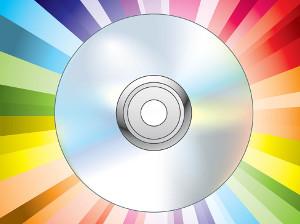 CD и DVD стикери